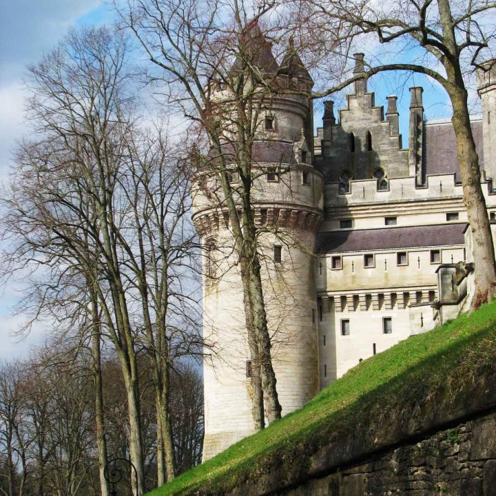 Pierrefonds, balade en châteauimaginaire