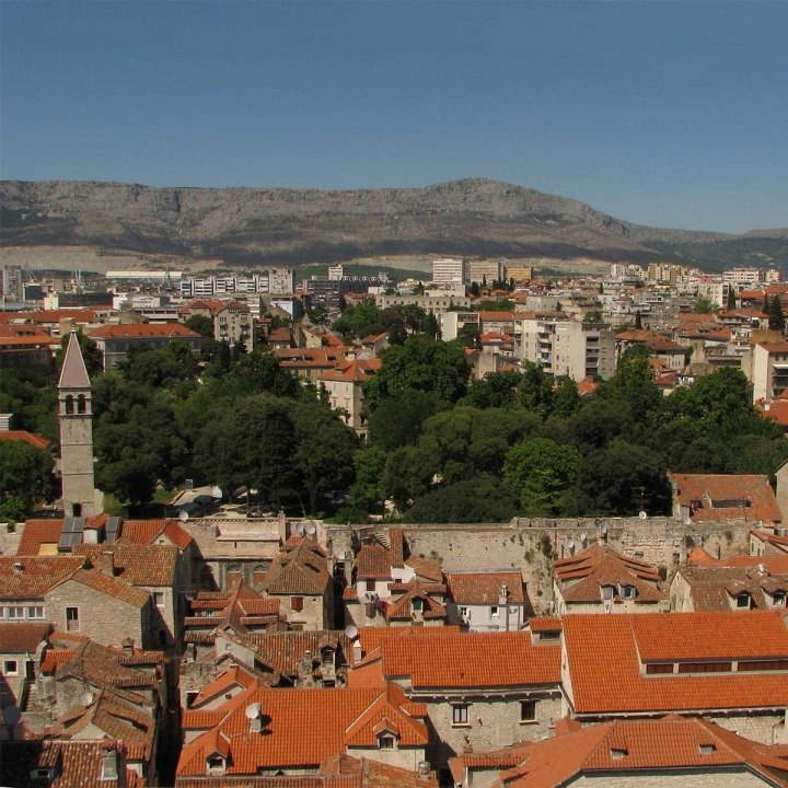 La Dalmatie partie 2 : un jour à Split, le palais devenuville