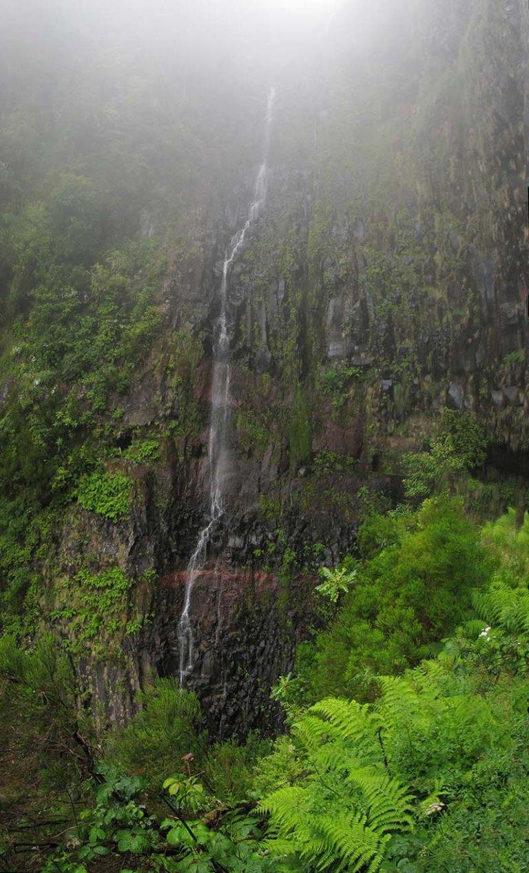 Cascade du Risco à Madère