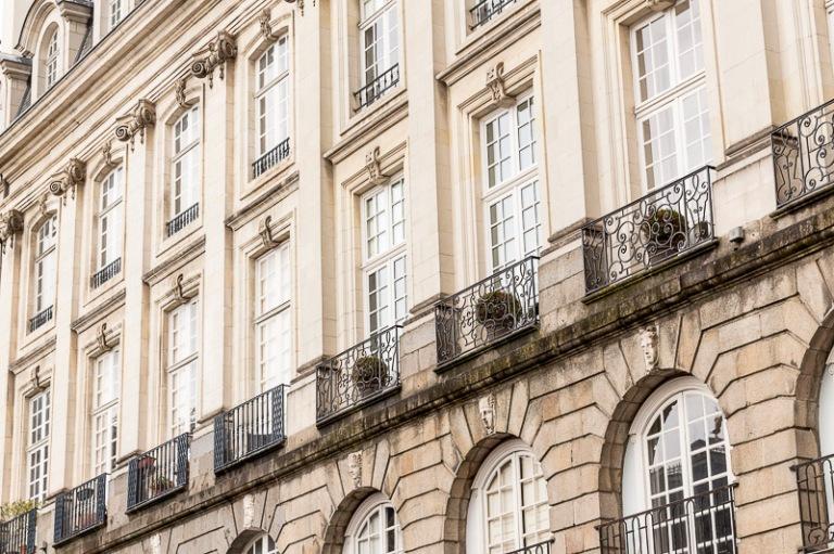Rennes, place du parlement de Bretagne