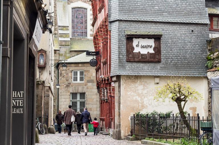 rue Saint-Guillaume à Rennes
