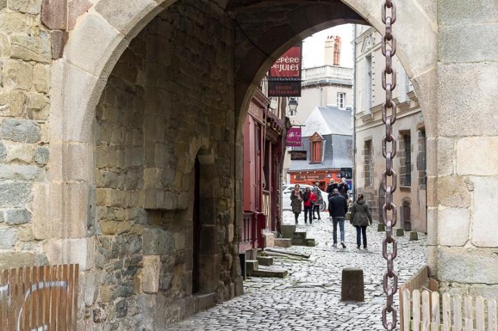 Portes mordelaises, à Rennes