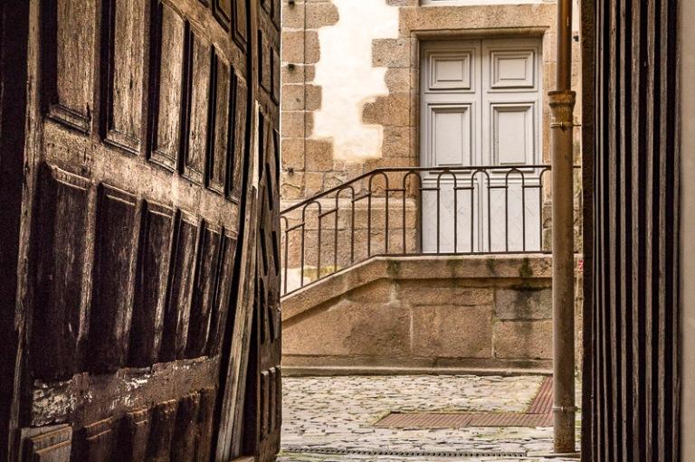 maison ancienne rue Saint Georges, à Rennes