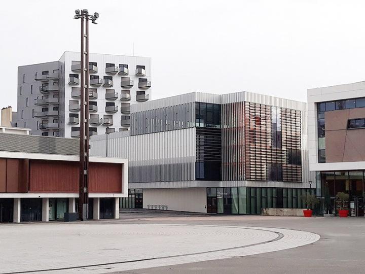 Rennes, esplanade Charles-de-Gaulle