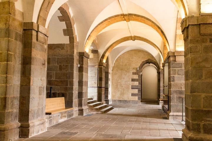 intérieur du Parlement de Bretagne à Rennes