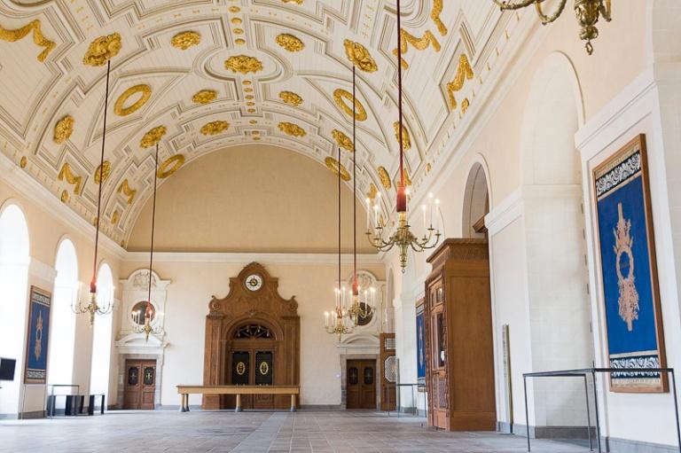Parlement de Bretagne, salle des pas perdus
