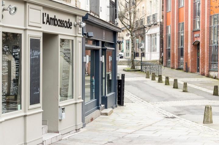 restaurant l'Ambassade, à Rennes