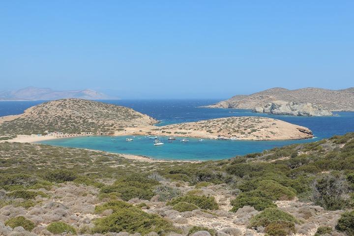plage de Kalotaritissa - Amorgos