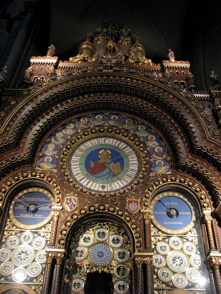 Cathédrale Saint-Pierre de Beauvais - l'horloge astronomique